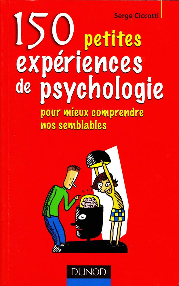 livre 150 petites expériences de psychologie