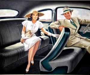 Mercury interior 1949 - Emmett McNamara