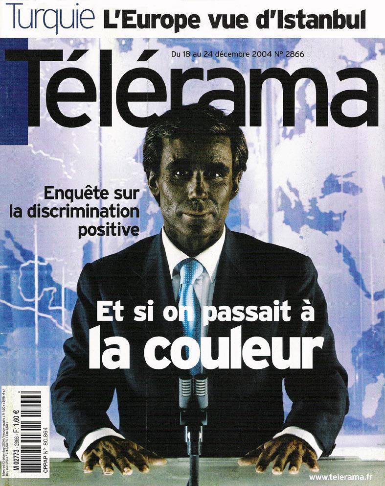 couverture Télérama 2004