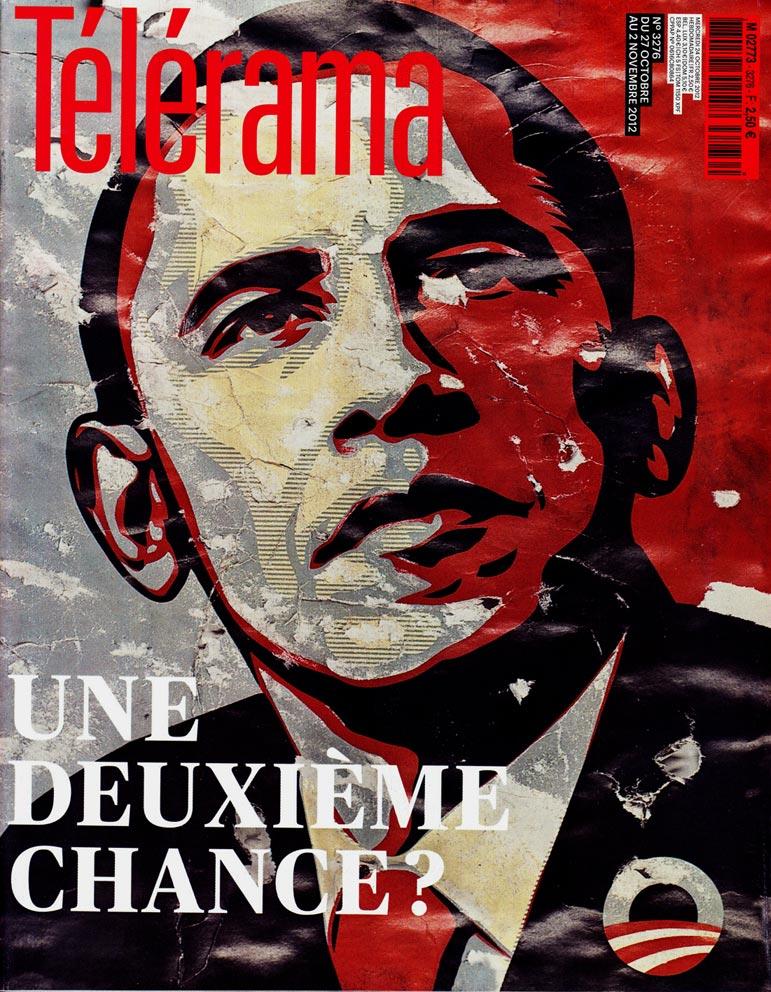 couverture Télérama 2012