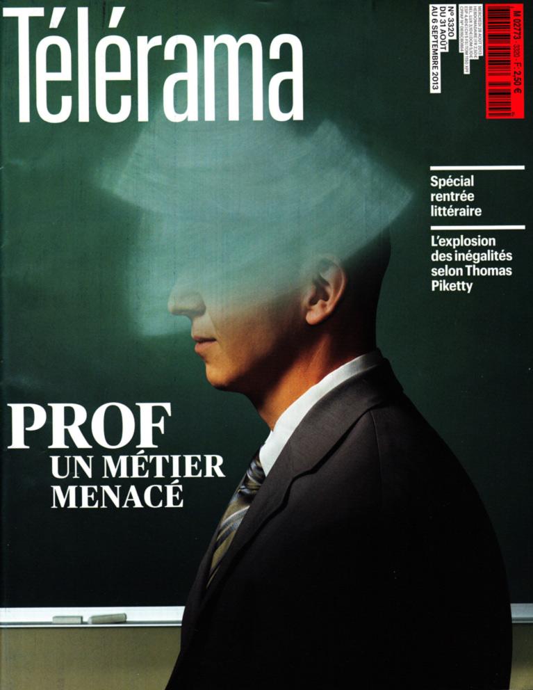 couverture Télérama 2013