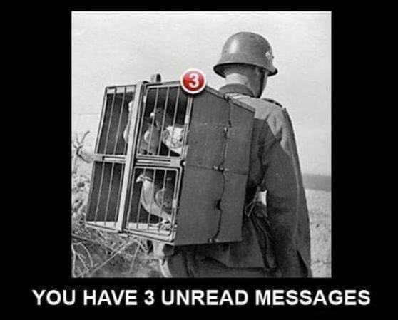 Unread messages - Humour