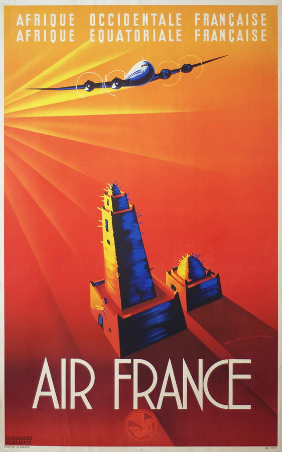 Air France - Edmond Maurus - 1947