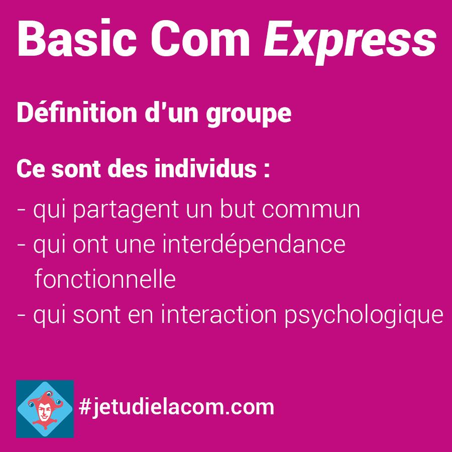 Définition d'un groupe