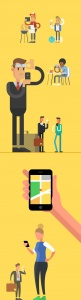 Characters for Western Union_Alexey Kuvaldin
