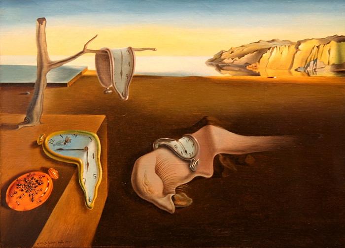 Dali - La persistance de la memoire - 1931
