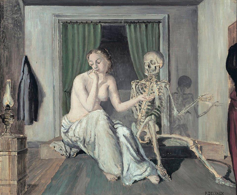 Delvaux - La Conversation - 1944