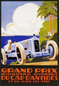 Gand Prix du Cap d'Antibes - A. Kow - 1930