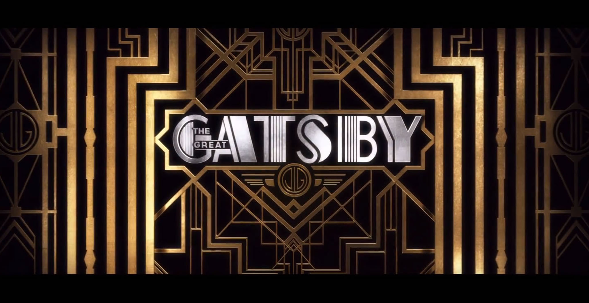 Lettrage art deco Gatsby