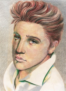 Glaser - Illustration Elvis - 1979
