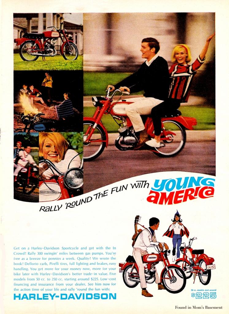 Harley-Davidson-1966
