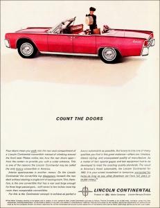 Lincoln Continental - 1962