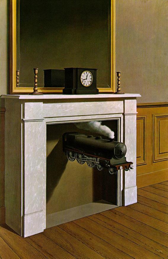 Magritte - La duree poignardee - 1939