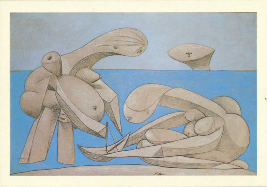 Picasso - La Baignade - 1937