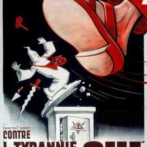 Tyrannie maçonnique - Referendum 1937