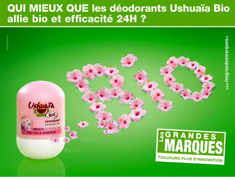 Ushuaïa déodorant bio