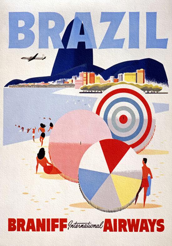 Brazil - Braniff International Airways
