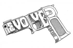 Jean Alessandrini - Mot image revolver