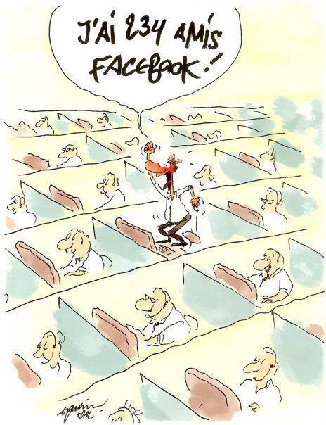 Amis Facebook - Humour