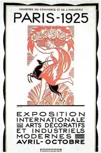 Affiche Exposition Arts Décos - Robert Bonfils - 1925