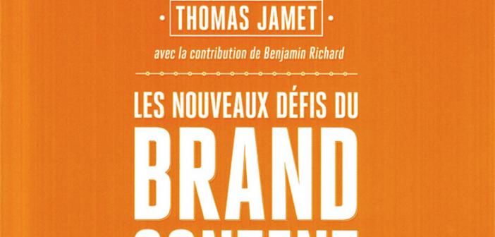 Livre : Les nouveaux défis du Brand content