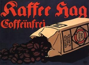 Bernhard - Kaffee Hag - 1909