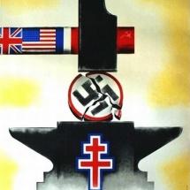 Carlu - Entre le marteau et l'enclume - 1944