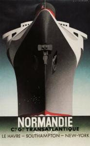 Cassandre - Normandie - 1935