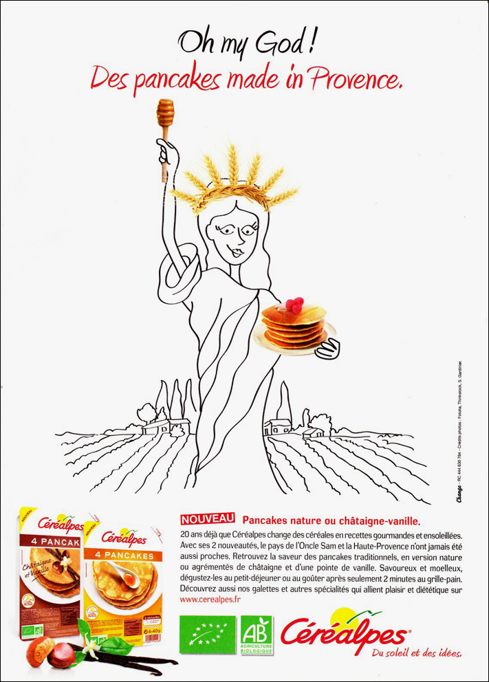 Céréalpes pancakes bio