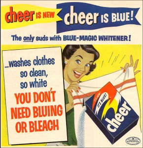Cheer is new, Cheer is blue !
