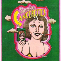 Seymour Chwast - Smoke Cancerettes