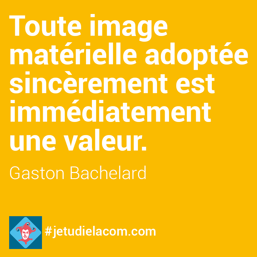 citation image - G. Bachelard