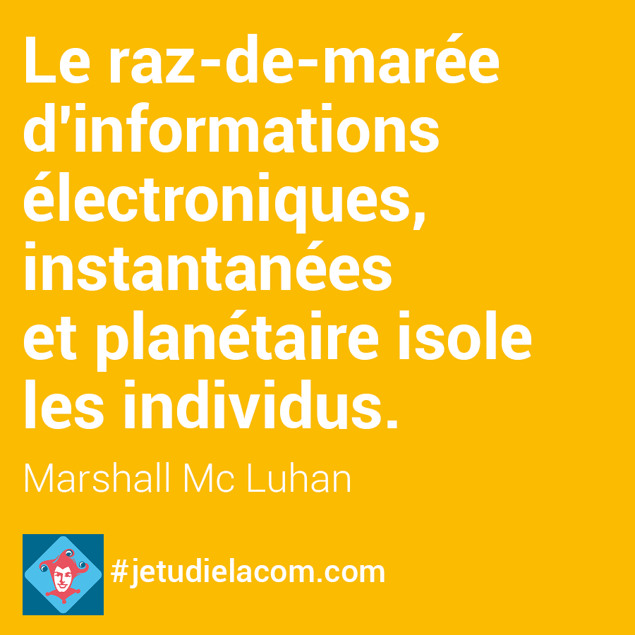 citation M. Mc Luhan