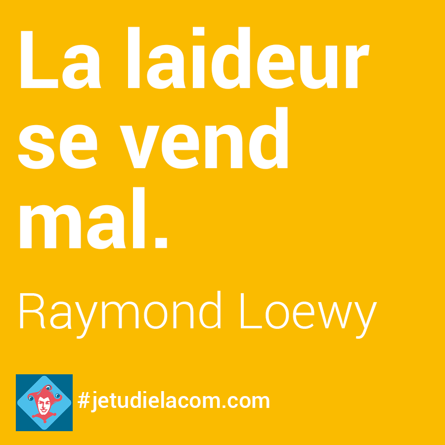 citation laideur - R. Loewy