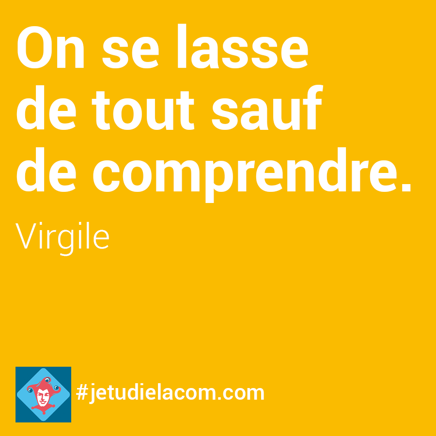 citation comprendre - Virgile