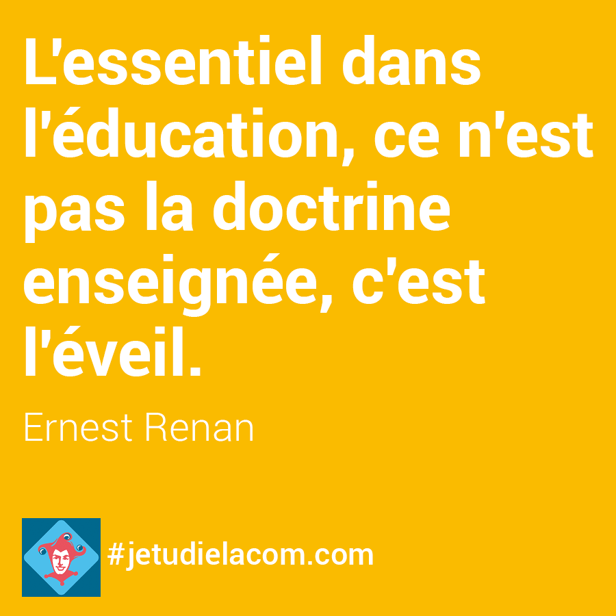 Education - Ernest Renan