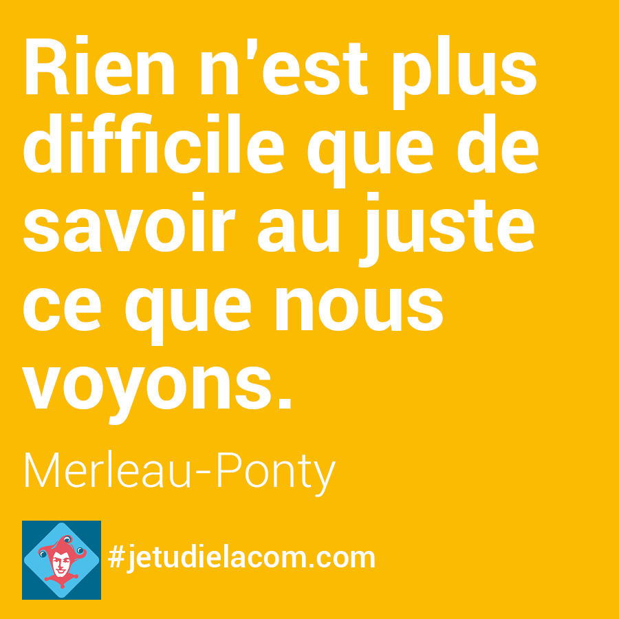 Perception - Merleau-Ponty