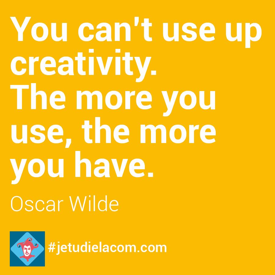 citation créativité Oscar Wilde