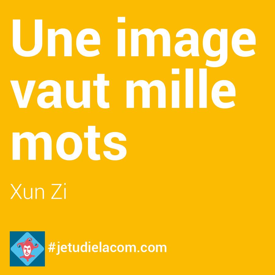 Une image vaut mille mots - Xun Zi