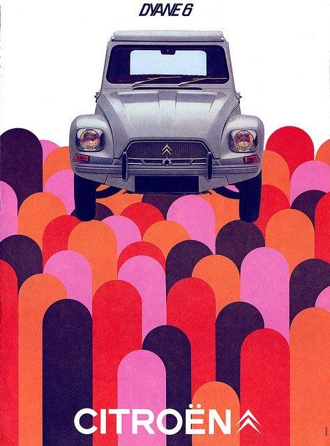 Citroen Dyane 6 - Delpire - 1969