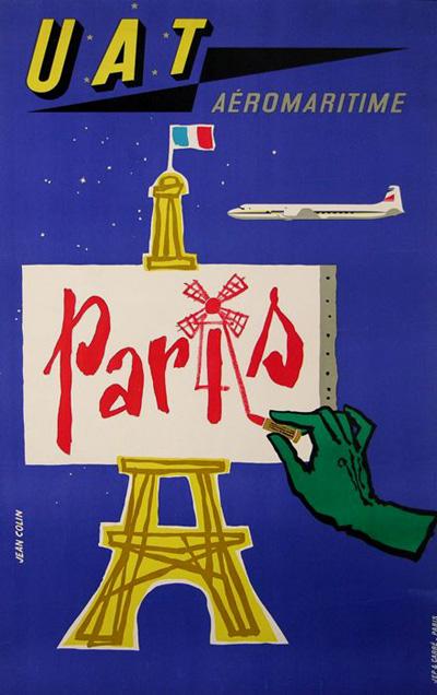 UAT Paris - Colin - 1955