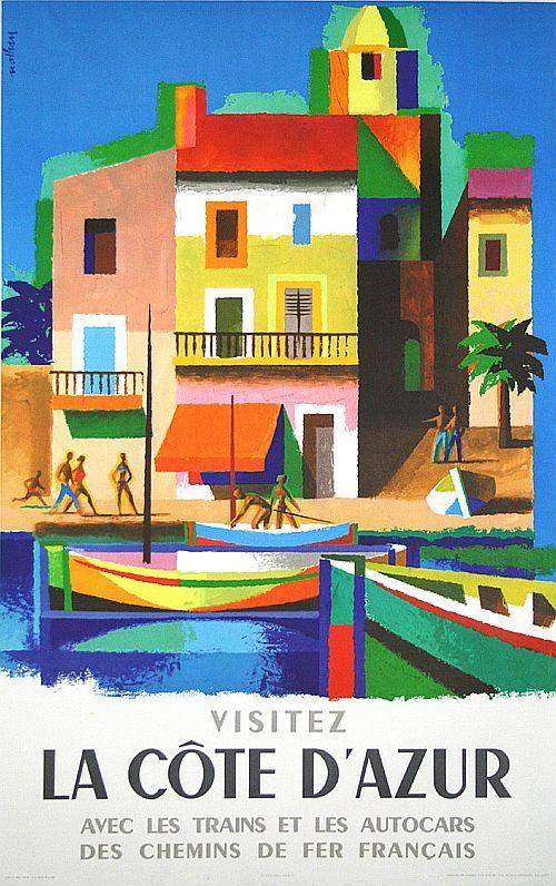 Côte d'Azur - Nathan Garamond - 1953