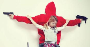 crucifixion-enfance -Erik Ravelo