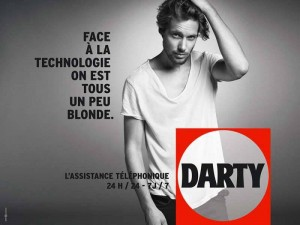 Darty - Face à la technologie on est tous un peu blonde.