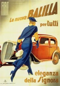 Marcello Dudovitch - Fiat Balilla - 1934