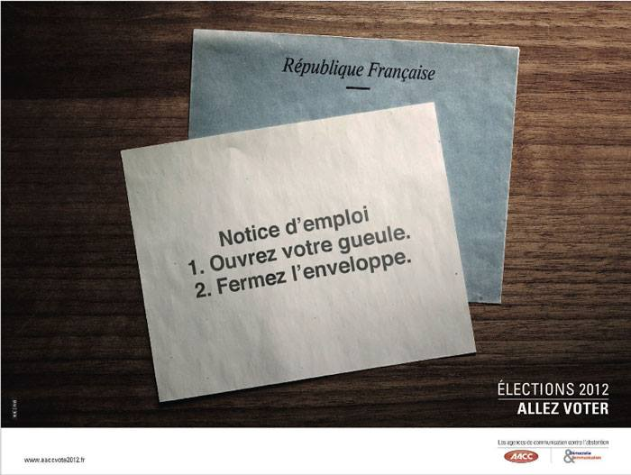 Election 2012 - AACC - Aller voter