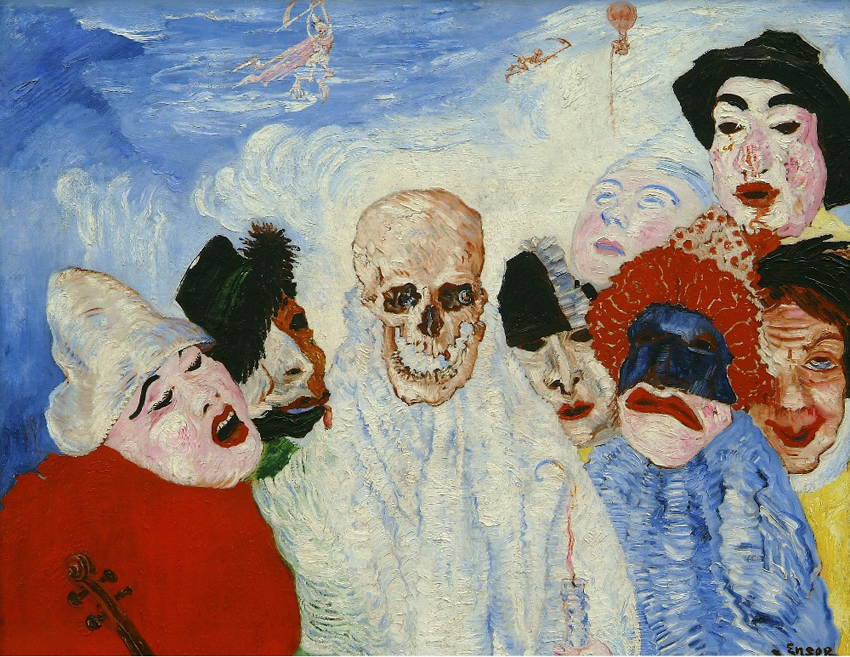 Ensor - La mort et les masques - 1897