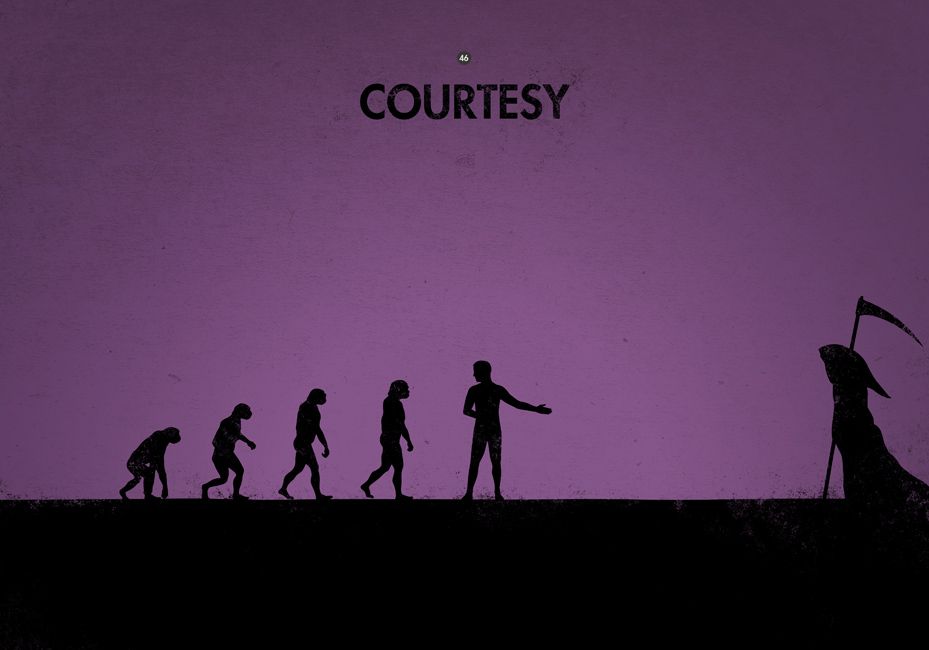 evolution_courtesy