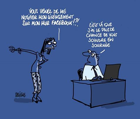 Facebook - Humour Deligne