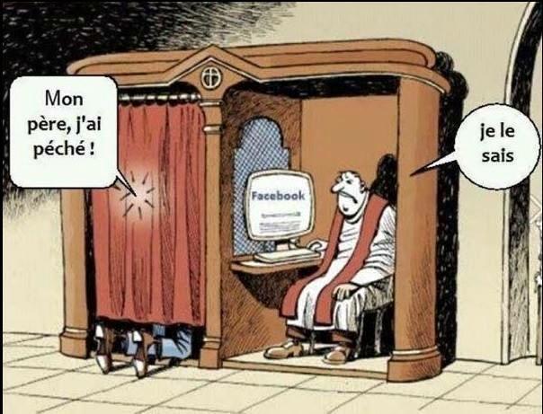 Facebook confessional - Humour